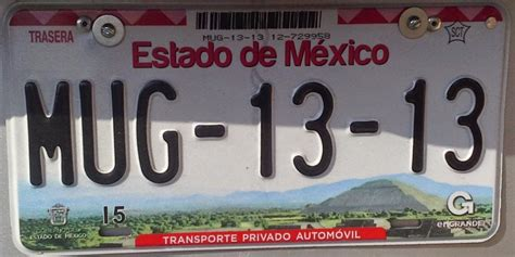 placas del estado de mexico placas de autos de m 233 xico y otras cos 999 as abril 2015
