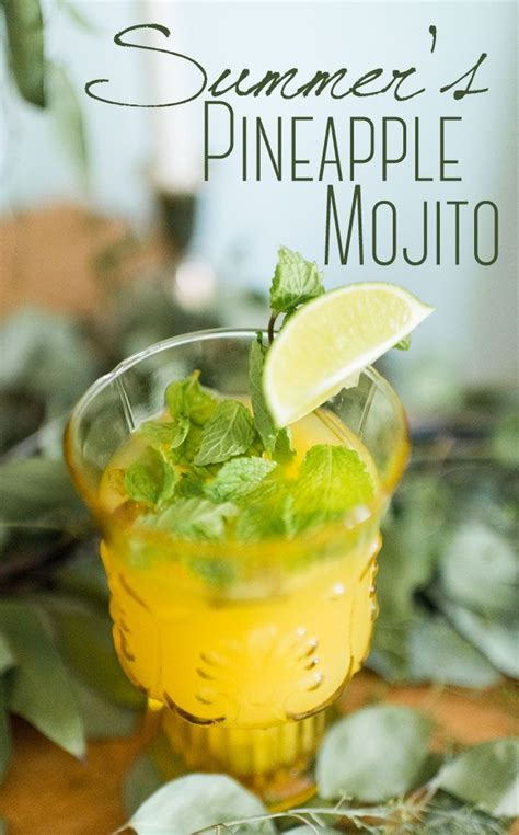 pineapple mojito recipe the 25 best pineapple mojito ideas on pinterest mojito