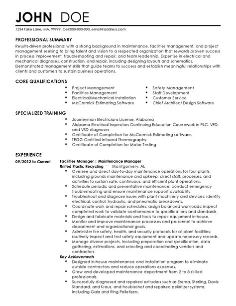Professional Resume Exles Management by 19266 Resume Exles For Managers Unique Resume Exles For