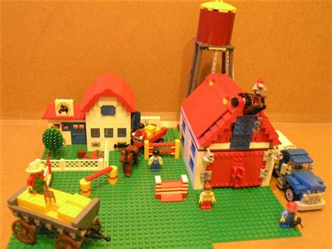 lego farm house and lego barn moc farm house 6379 lego town eurobricks forums