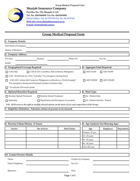 Health Insurance Quote Form Template   44billionlater
