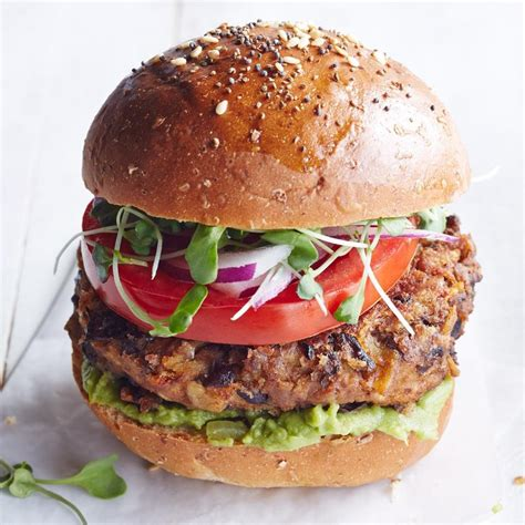 salsa black bean burgers recipe eatingwell