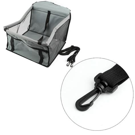 Foldable Travel Booster Bag foldable pet cat car crate lookout booster seat bag