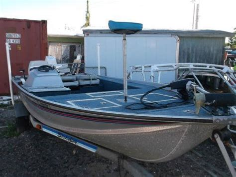 wide aluminum bass boats used aluminum boats ebay
