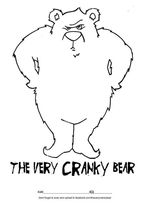 Cranky Bear Coloring Pages | 1000 images about the very cranky bear on pinterest the