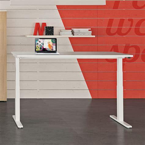 scrivania regolabile in altezza scrivania regolabile in altezza up linekit