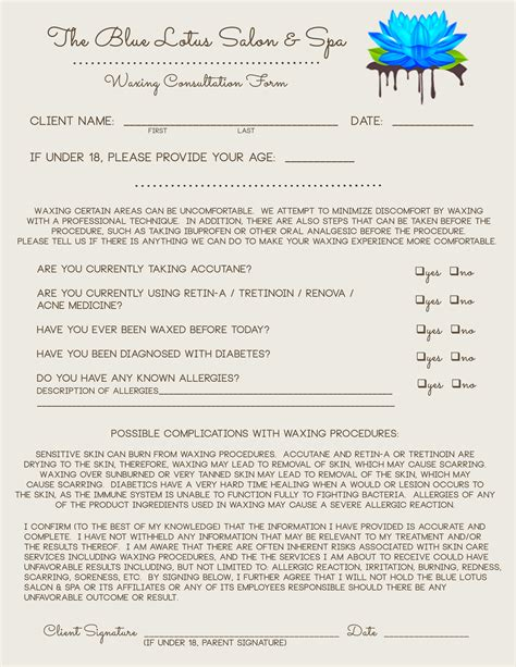 client consultation form template makeup consultation form exles mugeek vidalondon