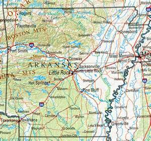 arkansas maps perry casta 241 eda map collection ut