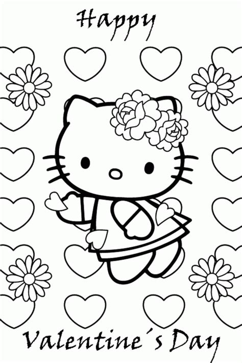 hello kitty mothers day coloring pages hello kitty valentines day coloring pages coloring home