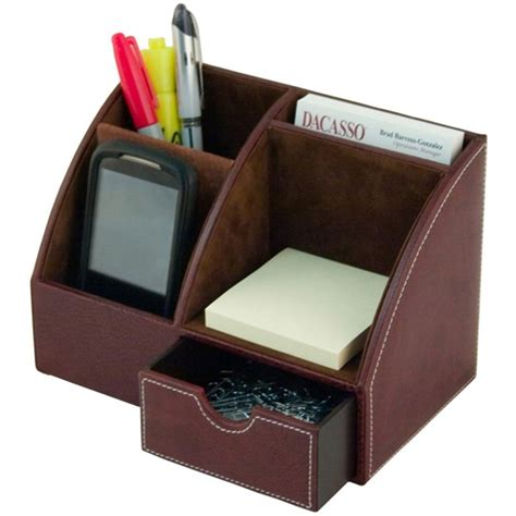 Desk Top Organizers Dacasso Desk Top Organizer Daca3013 Desktop Organizers Desktop Organizers Holders Desk