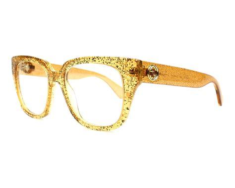 9885 3 Gucci 3 In 1 gucci eyeglasses gg 0037 o 006 gold visionet