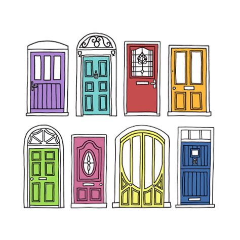 Drawing Of A Door by Player Graphic Designer October 2008