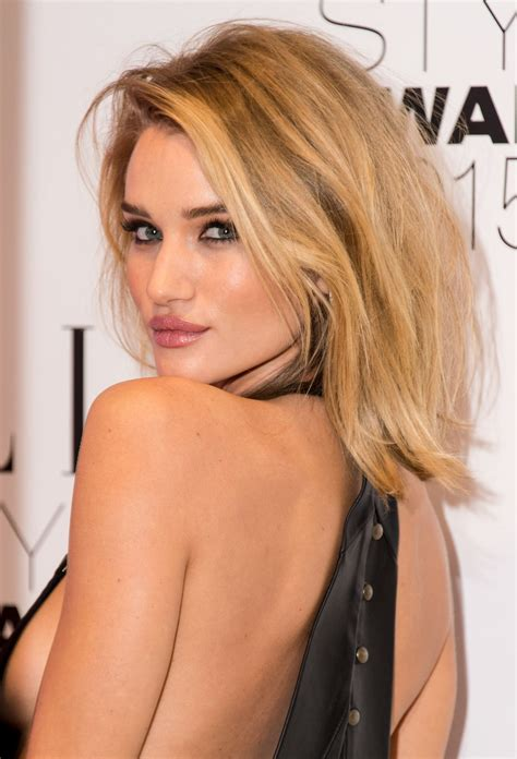 rosie huntington whiteley rosie huntington whiteley 2015 style awards in