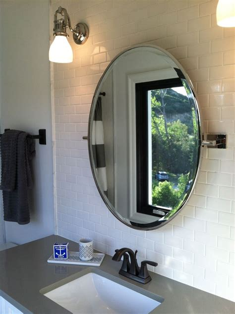 circular bathroom mirror 1000 ideas about oval bathroom mirror on pinterest
