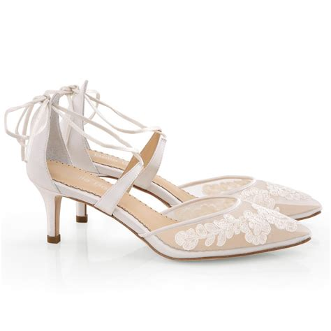 Wedding Shoes by Amelia Wedding Shoes Ivory Lace Bridal Shoes