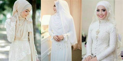 tutorial jilbab lcb cara berhijab ala kebaya 10 inspirasi hijab gaun ijab