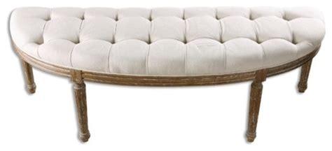off white storage bench uttermost leggett bench in off white 23196