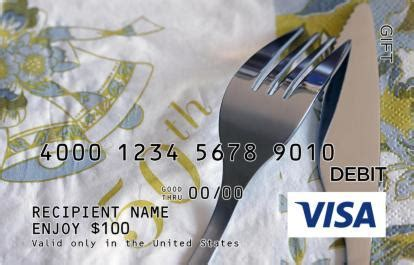 50th Anniversary Visa Gift Card