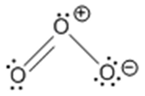ozone electron dot diagram bonding mcat review