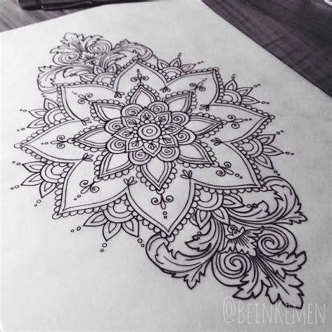 tattoo mandala zum ausmalen bein kemen tumblr tattoo idea s pinterest