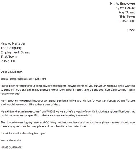 Cover Letter For No Specific by Cover Letter For No Specific Position 2662