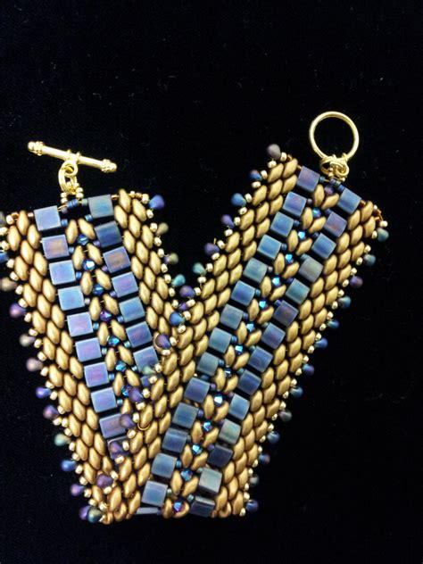 etsy bead pattern bracelet handmade tila bead bracelet superduo bead