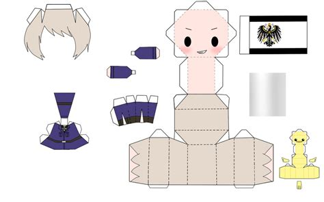 Anime Papercraft Template - paper crafts