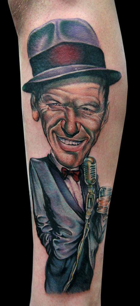 frank sinatra tattoo cecil porter illustration tattoos color frank sinatra