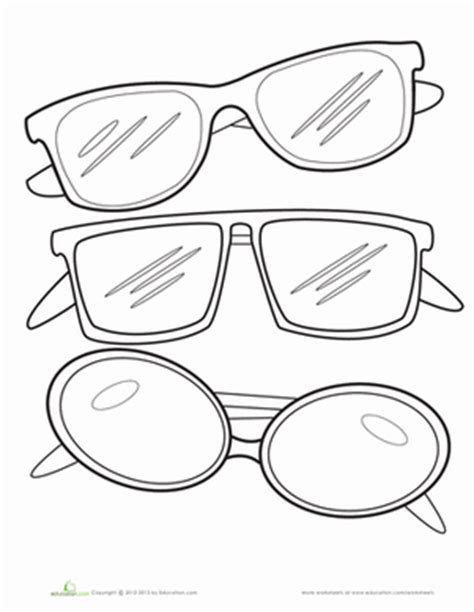 sunglasses coloring page cartoon pictures of shades and rayban louisiana bucket
