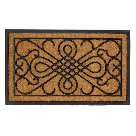 Entry Door Mat by Beautiful Scrollwork Design Entry Front Door Mat Rug New