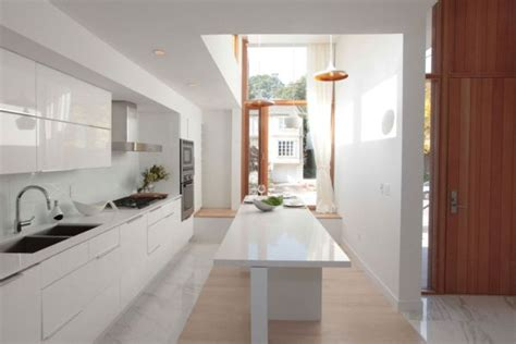 long narrow kitchen design soren s lie 55 modern kitchen design ideas that will