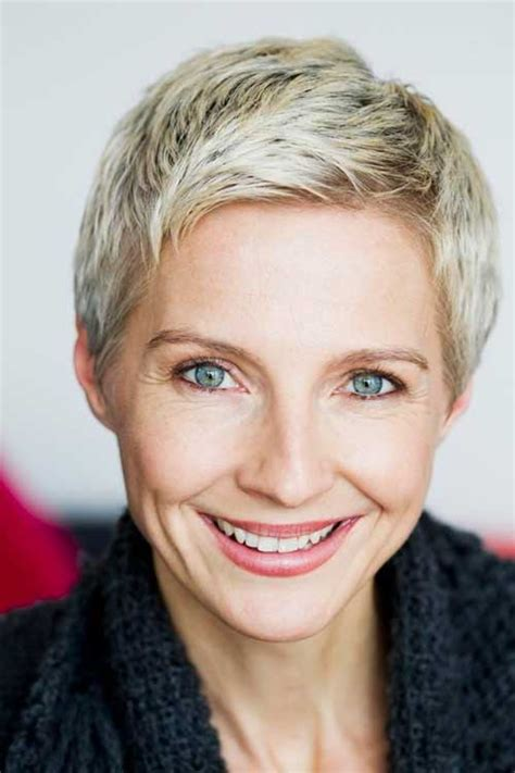 edgy short haircuts for 50 yearold women 15 short pixie hairstyles for older women side sweep