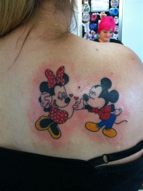 minnie and mickey tattoos mickey and minnie mickey minnie