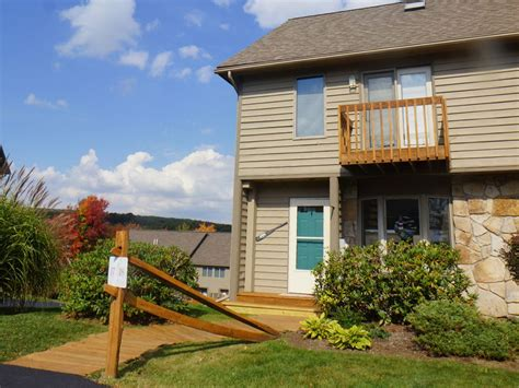 Wisp Ski Resort Cabin Rentals by Creek Lake Lake Access Townhome Homeaway Mchenry