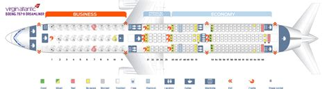 seat map dreamliner seat map boeing 787 9 dreamliner atlantic best