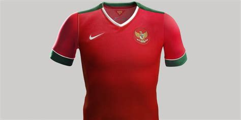 Jersey Sepeda Timnas Indonesia ini detail quot jersey quot baru timnas indonesia kompas