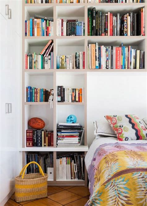 16 most creative bookshelf headboard design ideas