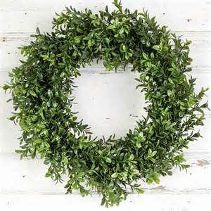 artificial boxwood wreath artificial boxwood wreath wall decor home decor