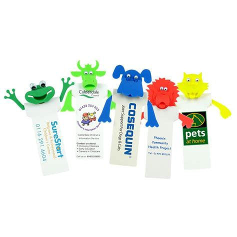 Recycled Giveaways - 4imprint co uk recycled fun bookmarks 400092r imprinted with your logo