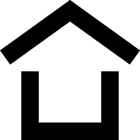 haus icon dach haus haus er 246 ffnung symbol kostenlos travel