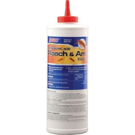 pic 16 oz boric acid roach killer iii 3 pack