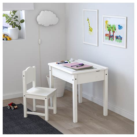 ikea childrens desk white sundvik children s desk white 58x45 cm ikea