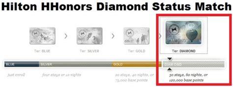 hilton honors diamond status hilton hhonors diamond status match challenge 2014
