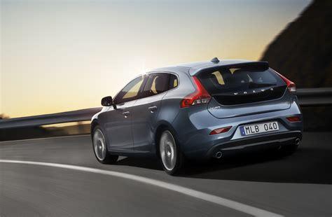 volvo hatchback volvo v40 official pictures of new premium hatchback
