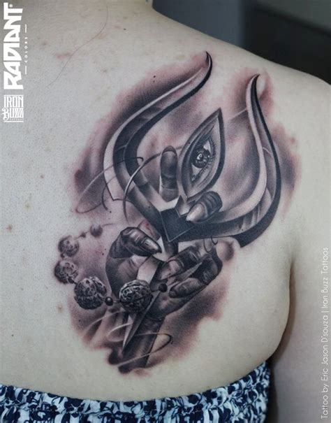 best lord shiva mahadev tattoos done at iron buzz