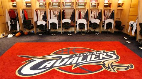 Cleveland Cavaliers Locker Room march 2010 boston celtics espn boston