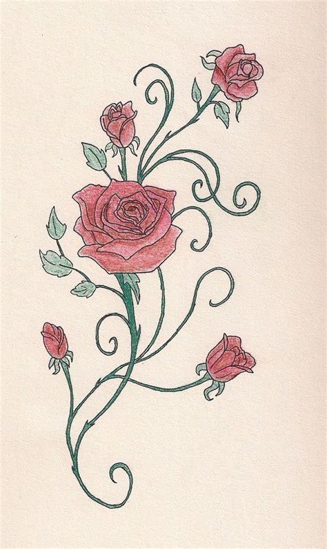 http tattoomagz com rose vine tattoo designs rose vine