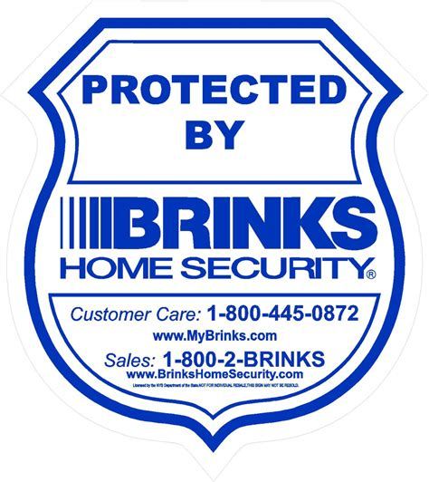 set of 6 brinks home security system free by