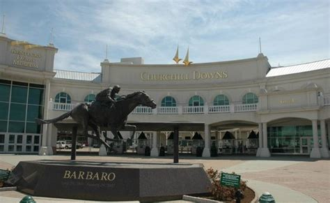 section 110 churchill downs and they re off picture of churchill downs louisville