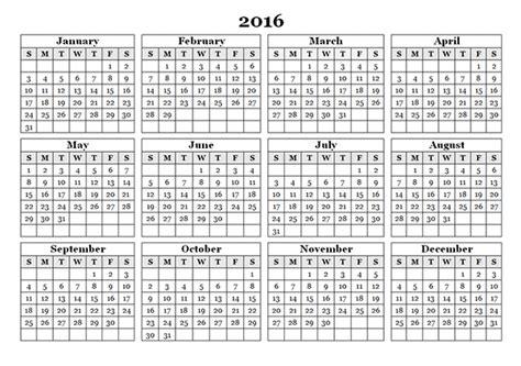 2016 printable yearly calendar excel weekly calendar 2016 excel pdf word